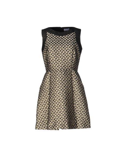 Red Valentino | Женское Чёрное Короткое Платье
