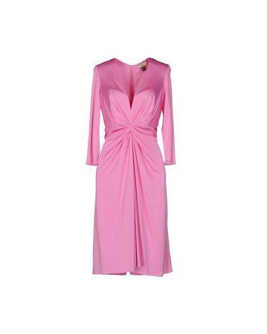ISSA | Женское Фиолетовое Платье До Колена
