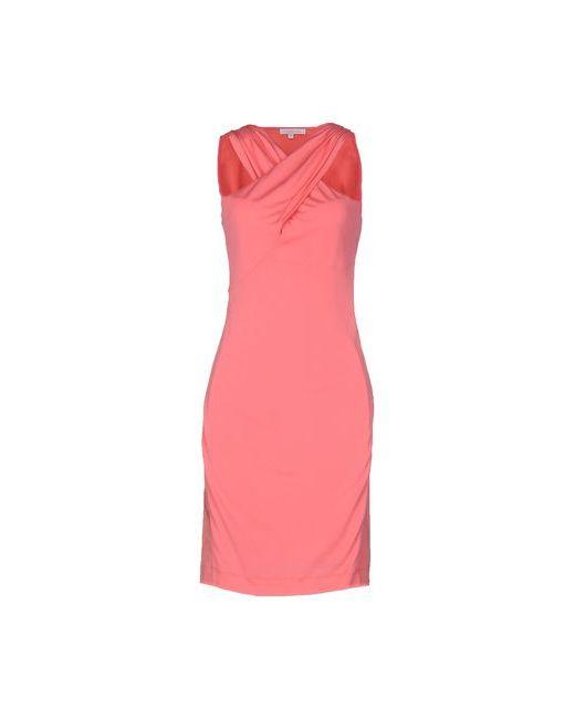 Patrizia Pepe | Женское Розовое Короткое Платье