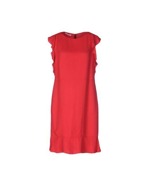 Les Copains | Женское Красное Короткое Платье