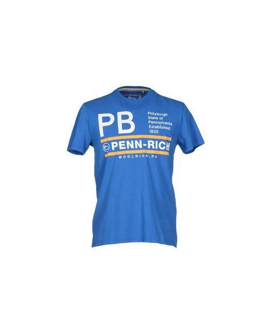 Penn-Rich Woolrich (Pa) | Женская Синяя Футболка