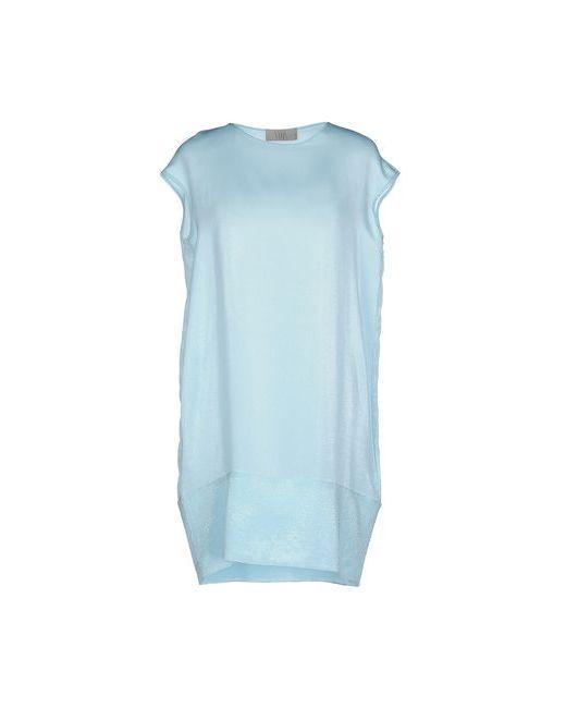 Vdp Collection   Женское Голубое Короткое Платье