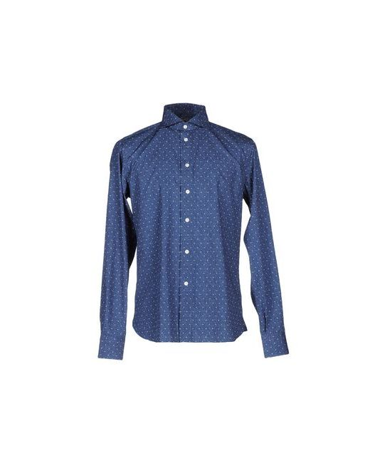 Fradi | Мужская Синяя Pубашка