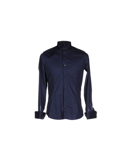 Job Mc Key   Мужская Синяя Pубашка