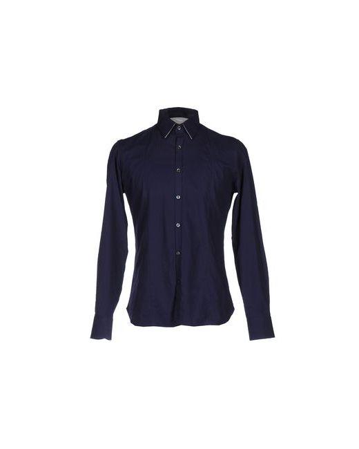 Bagutta | Мужская Синяя Pубашка