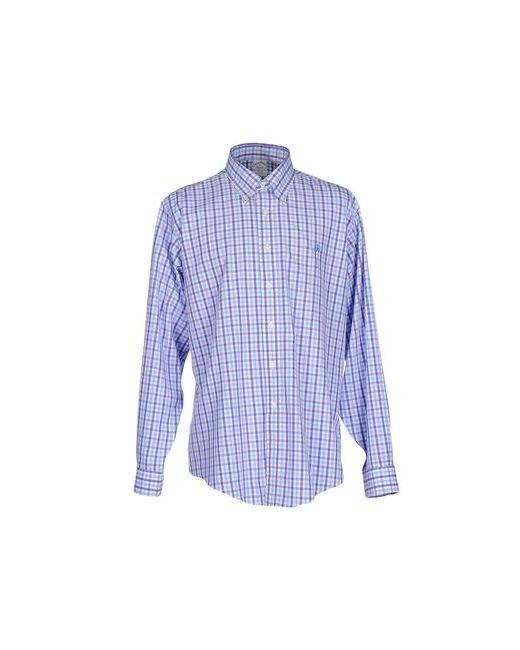 Brooks Brothers   Мужская Фиолетовая Pубашка