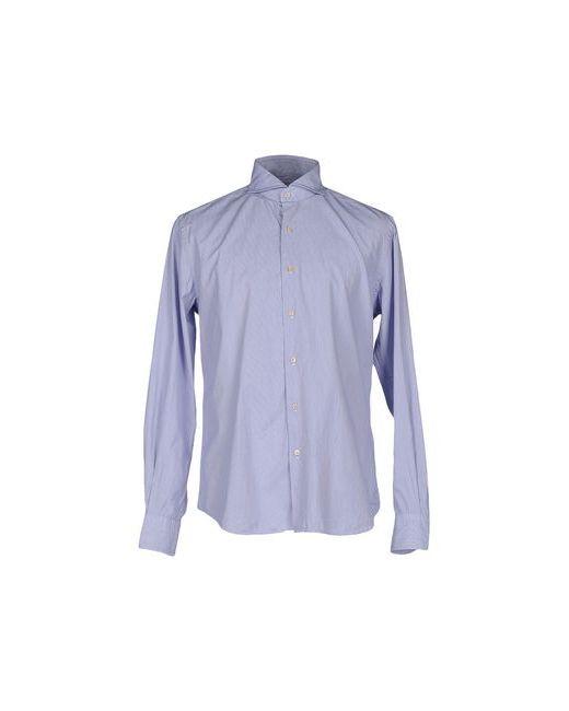 Cellini | Мужская Синяя Pубашка