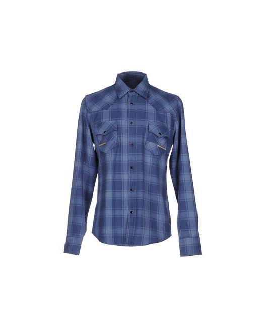 Meltin Pot   Мужская Синяя Pубашка