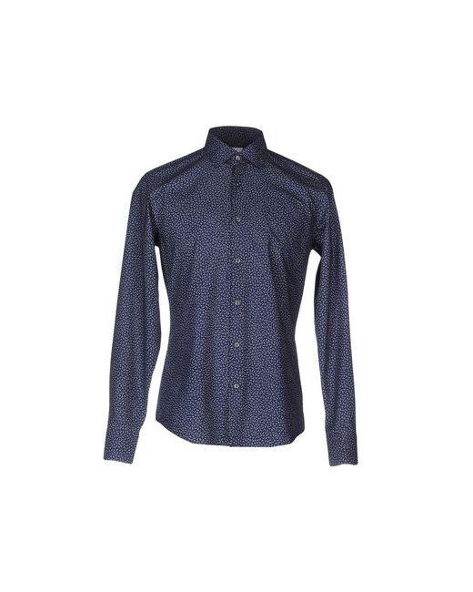AGHO   Мужская Синяя Pубашка