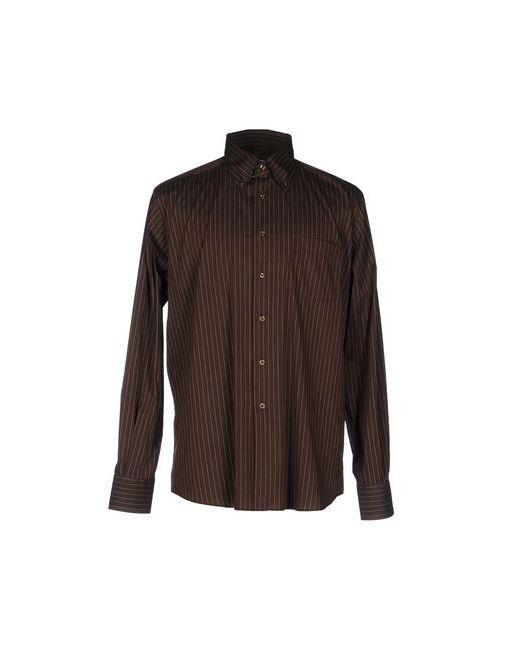 Ingram | Мужская Коричневая Pубашка