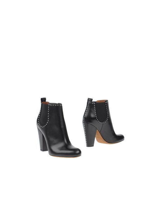 Givenchy | Женские Чёрные Полусапоги И Высокие Ботинки