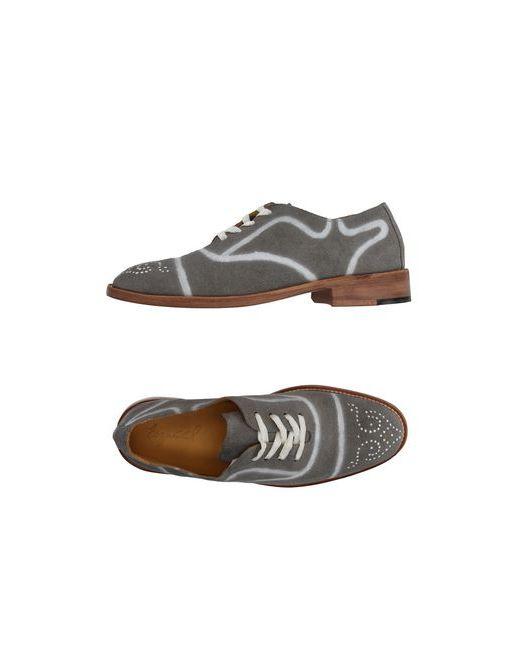 ESQUIVEL | Мужская Серая Обувь На Шнурках