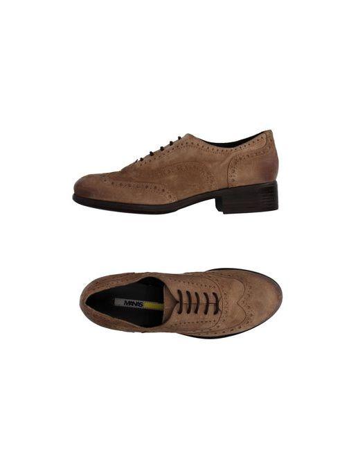 Manas | Мужская Песочная Обувь На Шнурках