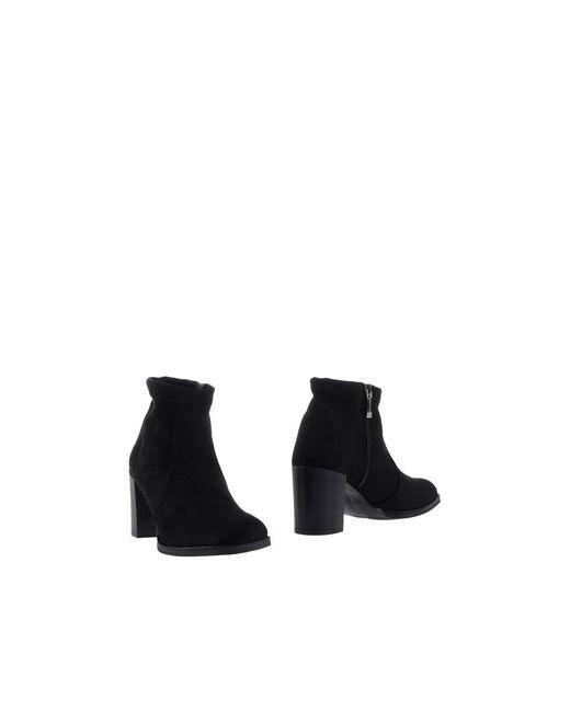 Nr Rapisardi | Женские Чёрные Полусапоги И Высокие Ботинки
