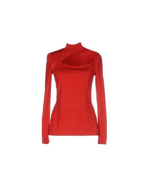 Versace   Женские Красные Водолазки