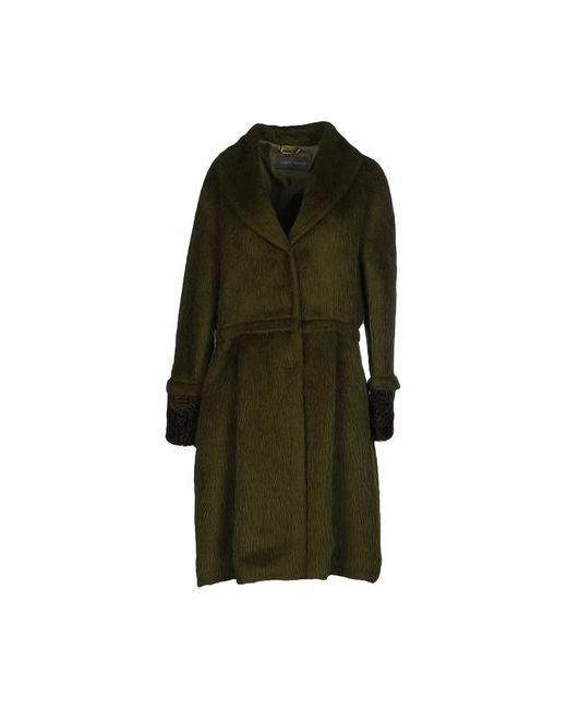 Alberta Ferretti   Мужское Зелёное Пальто
