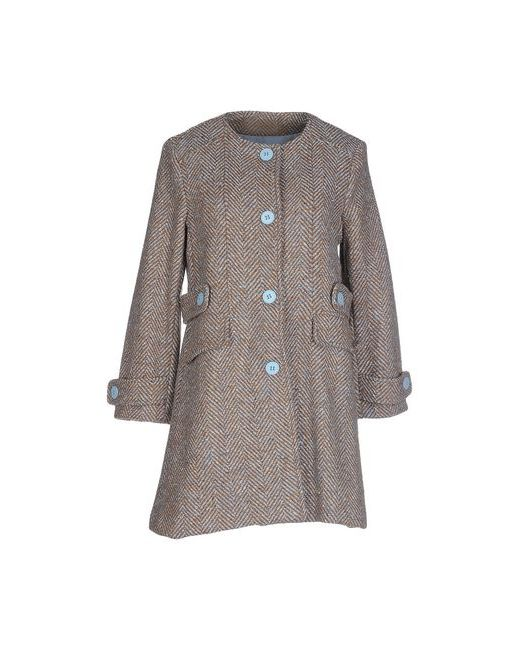 Angela Mele Milano   Мужское Коричневое Пальто