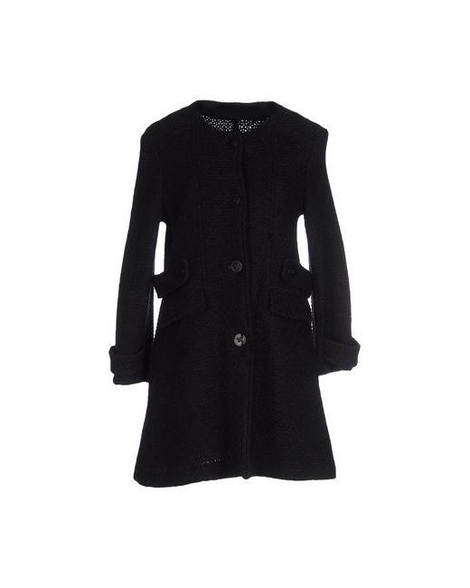 Angela Mele Milano   Мужское Чёрное Пальто