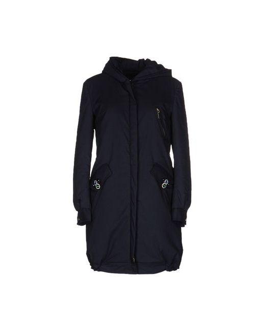 Anna Rachele Jeans Collection | Мужское Синее Пальто