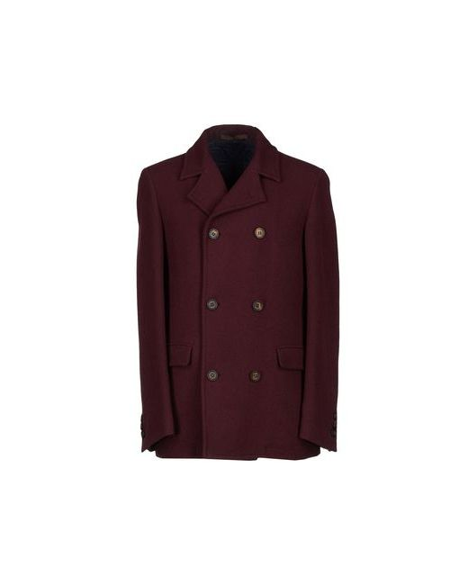 Eleventy   Мужское Баклажанное Пальто