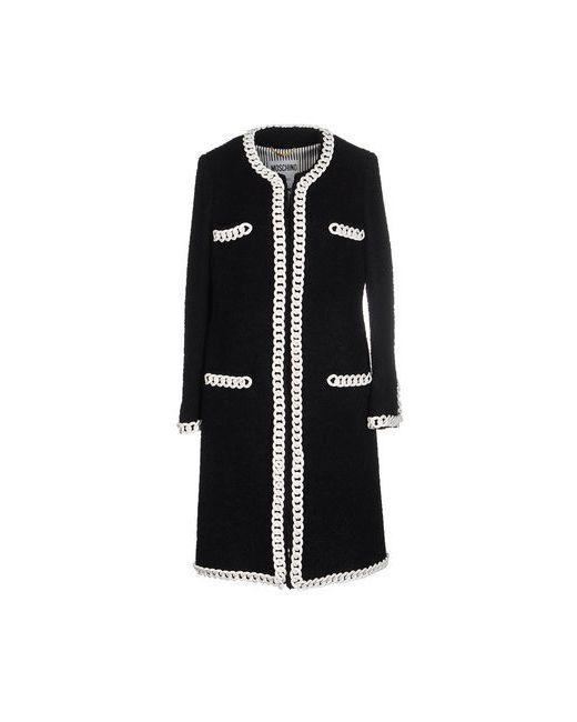 Moschino Couture | Мужское Чёрное Пальто