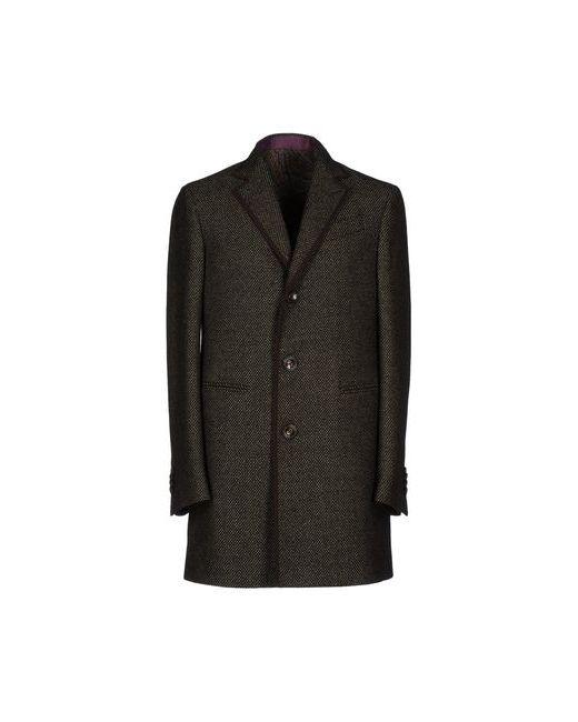 Etro | Мужское Чёрное Пальто