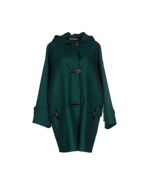 Valentino | Мужское Зелёное Легкое Пальто