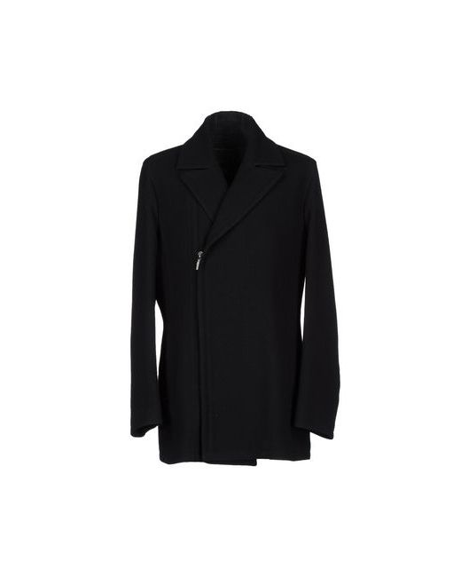 Dirk Bikkembergs Sport Couture | Мужское Чёрное Пальто