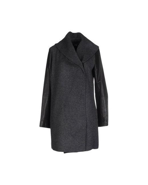 Vince | Мужское Серое Пальто