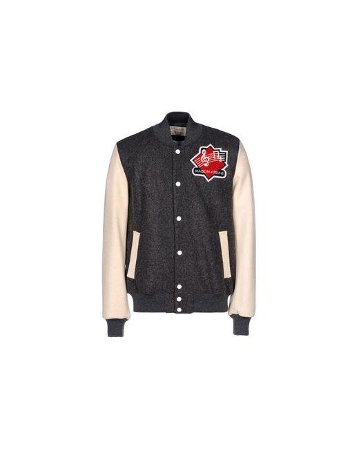 Maison Kitsune | Мужская Серая Куртка