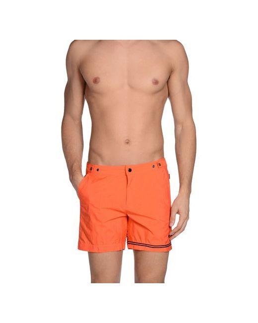 DANWARD | Мужские Оранжевые Шорты Для Плавания