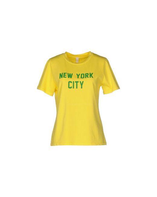 WENDY TRENDY | Женская Жёлтая Футболка