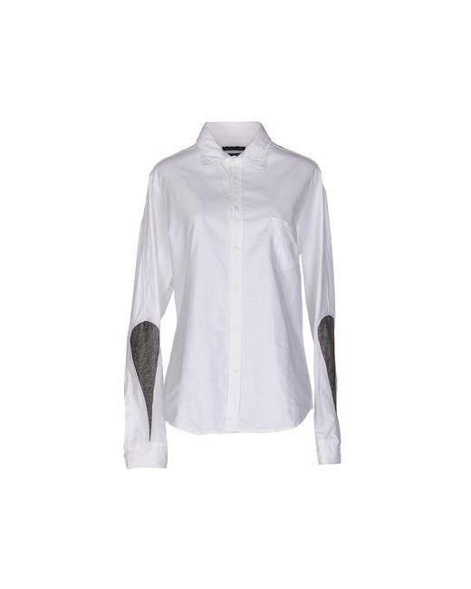 Master Coat   Мужская Белая Pубашка