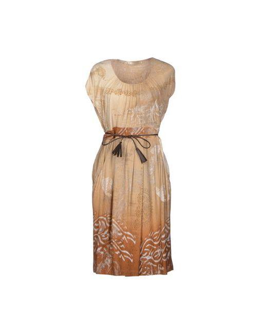 Myf | Женское Песочное Короткое Платье