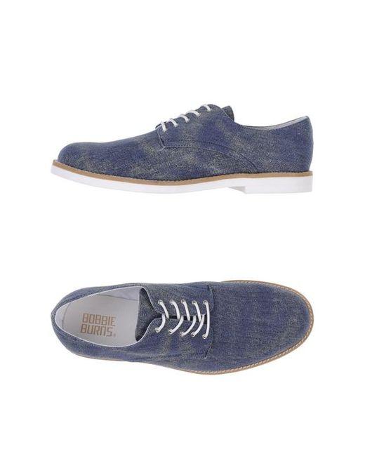 Bobbie Burns | Мужская Обувь На Шнурках