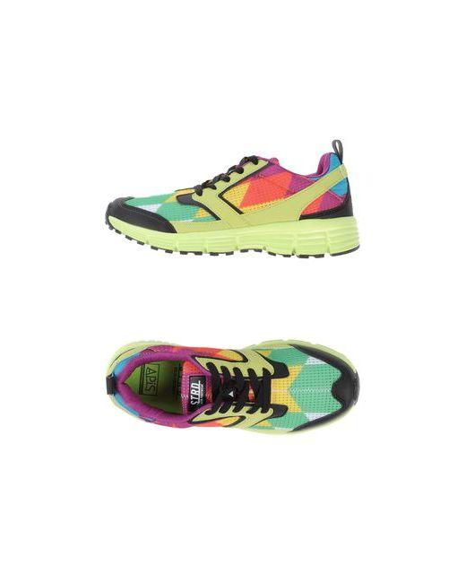 Strd By Volta Footwear | Мужские Зелёные Низкие Кеды И Кроссовки