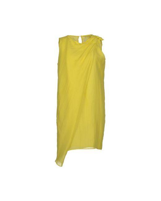 Laviniaturra | Женское Жёлтое Короткое Платье