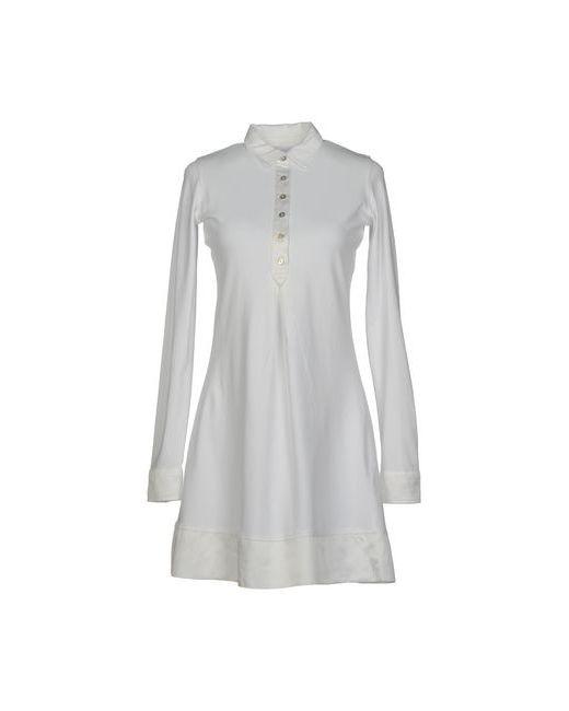 Alpha Massimo Rebecchi | Женское Белое Короткое Платье