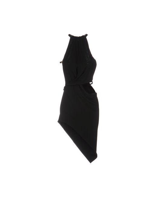 ANTHONY VACCARELLO NOIR | Женское Чёрное Короткое Платье
