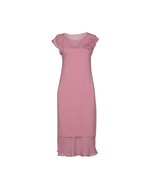 Twin-Set Simona Barbieri   Женское Фиолетовое Короткое Платье