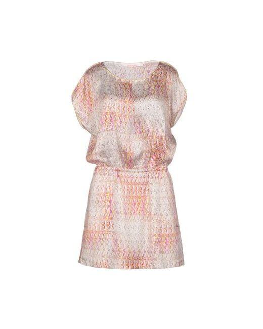 Virginie Castaway | Женское Розовое Короткое Платье