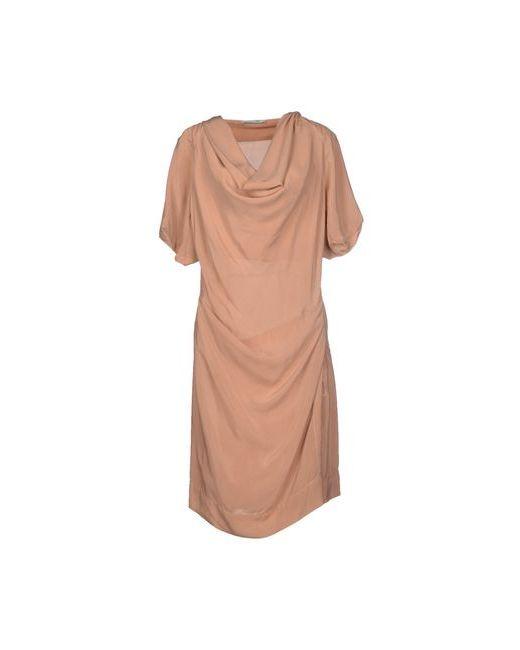 Oblique | Женское Розовое Платье До Колена