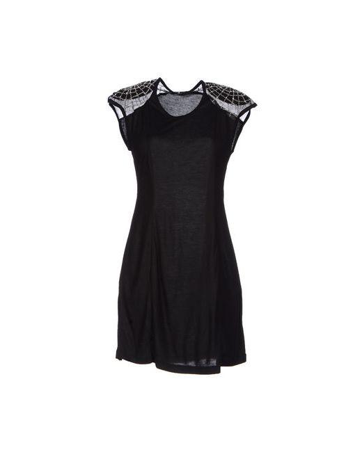 Marjan Pejoski   Женское Чёрное Короткое Платье