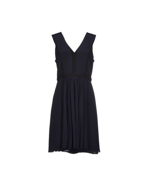 Victoria, Victoria Beckham | Женское Синее Короткое Платье