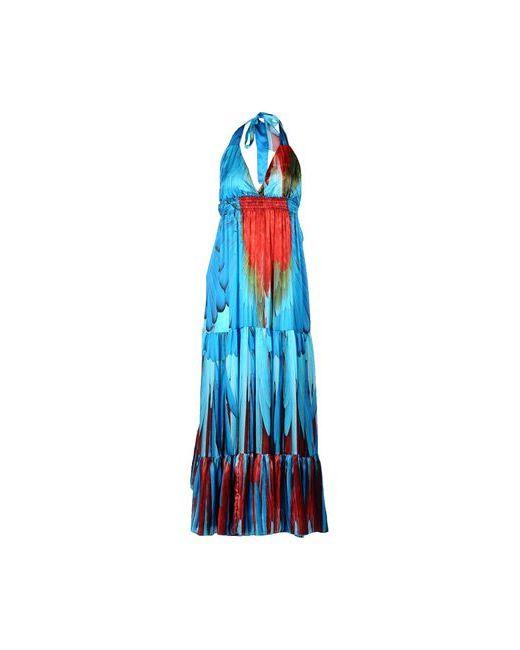 Ultra'Chic | Женское Лазурное Длинное Платье