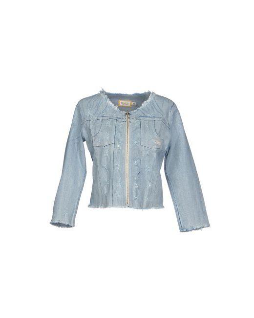 MET | Женская Синяя Джинсовая Верхняя Одежда