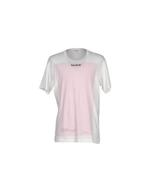 Yohji Yamamoto Pour Homme | Мужская Розовая Футболка