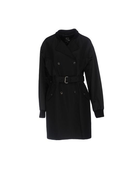 Mcq Alexander Mcqueen   Женское Чёрное Легкое Пальто