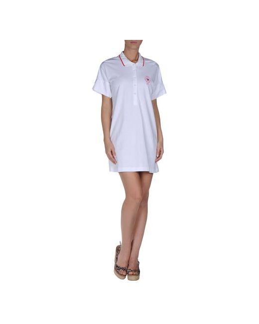 Gf Ferre' | Женское Белое Пляжное Платье