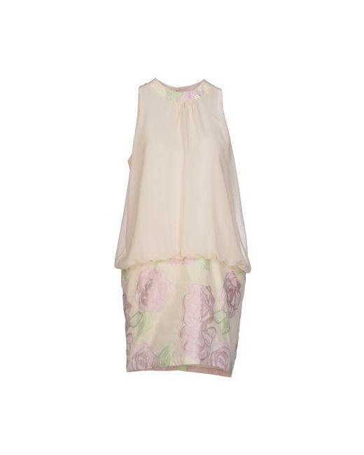 Blugirl Folies   Женское Бежевое Короткое Платье